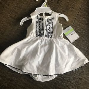 NWT baby girl dress with bloomers